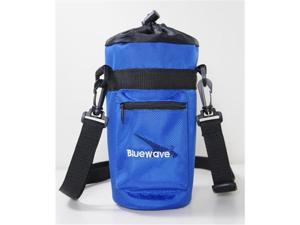 Bluewave Lifestyle PKSS200-Blue Water Bottle Insulated Carrying Holder Case, Blue - 1.5 L