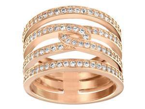 5139655 Swarovski Rose Gold Plated Creativity Ring