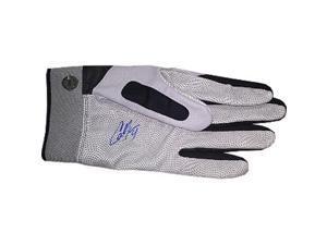 Cameron Maybin signed Team Issued Louisville Slugger Left Batting Glove (Detroit Tigers)