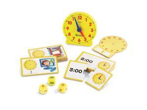 Learning Resources LER3220 Time Activity Set