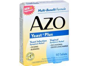 Azo HG0810119 Yeast Plus - 60 Tablets