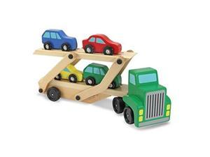 Melissa & Doug 5184 Classic Wooden Toy Community Vehicle Set - Newegg com