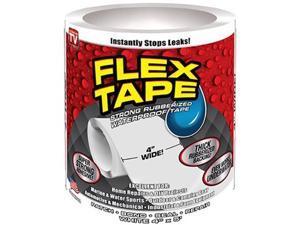 Swift Response 225126 4 in. x 5 ft. Flex Tape - White