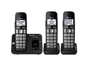 Panasonic KX-TGE433B 3 Handset Cordless Phone