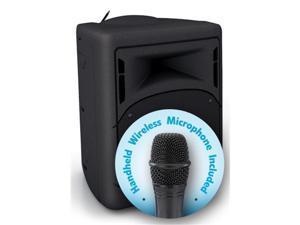 Oklahoma Sound PRA-8000-PRA8-5 40 watt Wireless PA System with Wireless Handheld Microphone