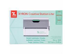 Xyron 624740 5 in. Creative Station Lite, Machine - White & Silver