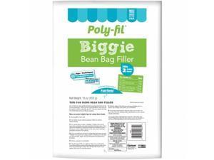 Fairfield PFBBL Poly - Fil Biggie Bean Bag Filler - 16 oz.