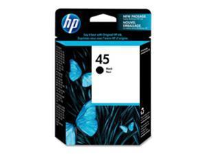 Hewlett-Packard HEW51645A HP 45 Ink Cartridge- 830 Page Yield- Black