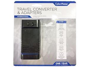 CYBERPOWER SYSTEMS USA TRB1L1 TRAVEL ADAPTER 100-240V IN/OUT