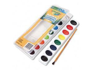 Binney & Smith 530555 Washable Watercolor Paint  16 Assorted Colors per Pack