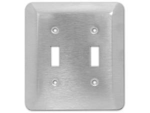Morris 83710 430 Wall Plate Stainless Steel Morris Products Oversize Blank 1 Gang