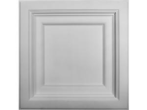 Ekena Millwork CT24X24CL 24 x 24 x 2.87 in. Classic Ceiling Tile