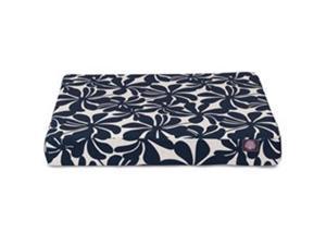 Majestic Pet 78899551613 Navy Blue Plantation Large Orthopedic Memory Foam Rectangle Dog Bed