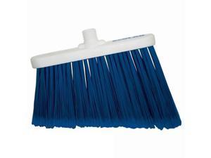 Ecolab 89990330 Flagged Lobby Broom, Blue