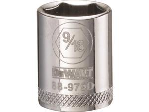 Stanley Tools 227879 0.56 in. 6 Point Socket - 0.37 in. Drive