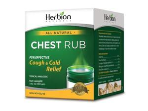 Herbion Naturals 582016 3.53 oz Chest Rub for Cold & Cough
