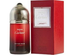 Cartier 292614 3.3 oz Pasha De Cartier Edition Noire Sport Edt Spray for Men