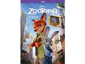 Buena Vista Home Video DIS D135123D Zootopia DVD by Byron Howard