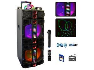 Befree Sound BFS-7777X 12 in. Subwoofer Bluetooth Portable Party Speaker