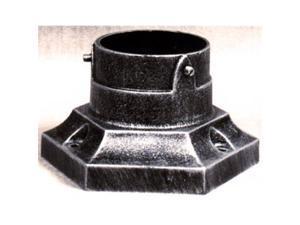 Special Lite Products PB-173-BAL Pedestal Post Base, Brushed Aluminum