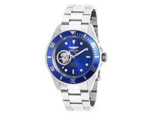 Invicta 886678252596 Mens 20434 Pro Diver Automatic 3 Hand Blue Dial Watch