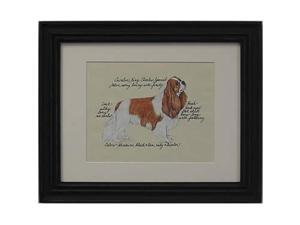 Clapper Hollow HC22 Cavalier King Charles  Blen Framed Print