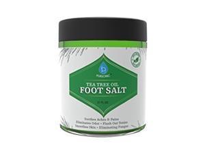 Pursonic TTOFS21 20 oz Tea Tree Oil Footsoak Salt with Epsom
