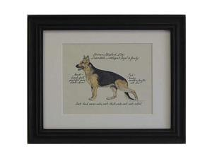 Clapper Hollow HC45 German Shepherd Framed Print