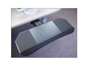 Systematix DPPLF17T 27 in. Slimline All-in-One Phenolic Keyboard Platform & Lever Free Arm