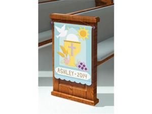 Amscan 394989 First Communion Banner Deco Kit - Pack of 6