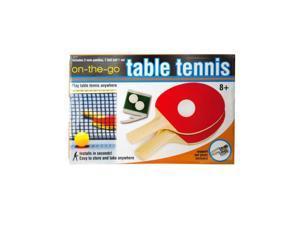 Bulk Buys GW316-4 Portable Table Tennis Set, 4 Piece