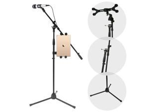 Pyle USA KV9604 Multimedia iPad & Microphone Stand, Adjustable to Fit All iPad Models