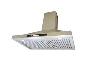XtremeAir PX15-W36 Pro-X Series With Baffle filters, Corner radius dynamic shape Wall mount hood - 36 in.