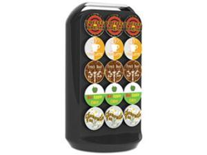 Ems Mind Reader CRS02BLK Coffee Pod Carousel, Fits 30 Pods - Black