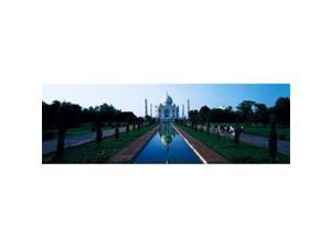 Panoramic Images PPI29918L Taj Mahal Agra India Poster Print by Panoramic Images - 36 x 12