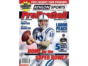 Athlon CTBL-012687 Peyton Manning Unsigned Indianapolis Colts 2011 Sports NFL Pro Football Magazine Preview