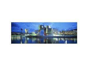 Panoramic Images PPI70033L Guggenheim Museum  Bilbao  Spain Poster Print by Panoramic Images - 36 x 12