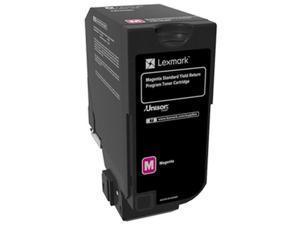 Lexmark - Bpd Supplies 74C0SMG Toner Cartridge Return Program Standard Yield, Magenta