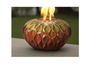 Marshall Home MBL-55-2-1750N 10.25 W x 6 H In., Large Weave Ceramic Firepot