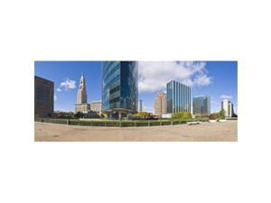 Panoramic Images PPI140625L Modern buildings in a city  Hartford  Connecticut  USA 2011 Poster Print by Panoramic Images - 36 x 12