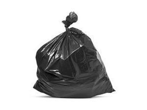 Petoskey Plastics FG-P9934-43 Can Liner - 55-60 Gallon HD Black Trash Bags