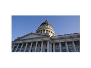 Panoramic Images PPI138451L Low angle view of the Utah State Capitol Building  Salt Lake City  Utah  USA Poster Print by Panoramic Images - 36 x 12