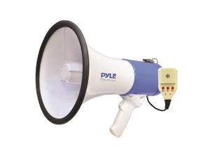 Pyle USA TW7052 Megaphone Speaker System with Built-in Rechargeable Battery, Handheld Microphone, Aux Input, Record & Replay Mode