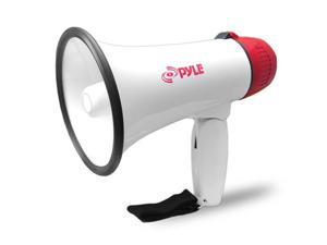 Pyle USA TW7049 Compact Megaphone Speaker, Battery Operated, Siren Alarm Mode, Volume Control