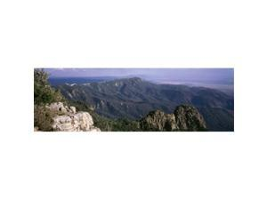 Panoramic Images PPI29629L Sandia Mountains  Albuquerque  New Mexico  USA Poster Print by Panoramic Images - 36 x 12