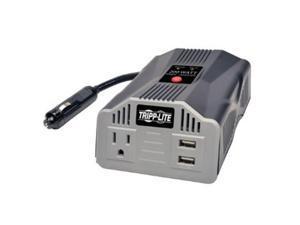 Tripp Lite PV200USB 200W Car Inverter 2-Port USB Charging 1 Outlet