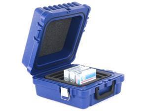 Turtle Case 01-679103 LTO / DLT / RDX-10 Blue, Water Resistant, Foam Slots