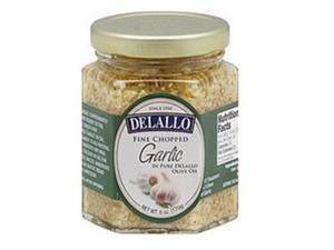 Twinings B02697 De Lallo Garlic Chopped In Oil - 12x6Oz