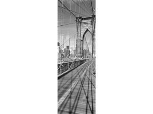 Panoramic Images PPI68916L Brooklyn Bridge Manhattan New York City NY USA Poster Print by Panoramic Images - 12 x 36