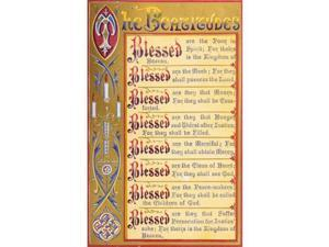 Printable Heaven PPHPDP89468LARGE The Key of Heaven 1874 The Beatitudes Poster Print by Thomas Kelly, 24 x 36 - Large